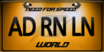WorldLicensePlateADRNLN