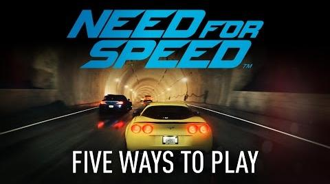 Need for Speed Gameplay Innovations Five Ways To Play