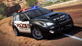 Subaru Impreza wrx sti (2.5l) police