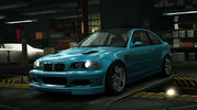 NFSW BMW M3 GTR E46 Blue