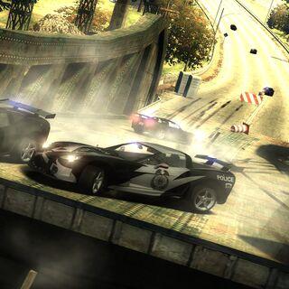 Nieudana próba schwytania gracza<br /><small>(Need for Speed: Most Wanted - Epilog)</small>