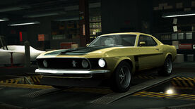 NFSW Ford Mustang Boss 302 69 Yellow