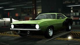 NFSW Plymouth Hemi Cuda Green