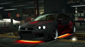 NFSW Scion tC Red Juggernaut