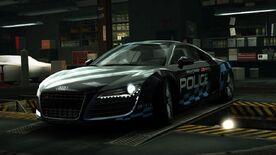 AudiR8CopWorld