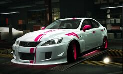 Nfs world lexus is-f beauty