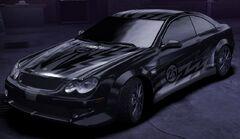 Carbon MercedesBenzCLK500Sal