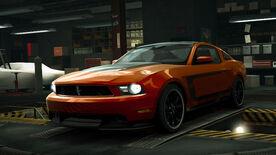 NFSW Ford Mustang Boss 302 2012 Orange