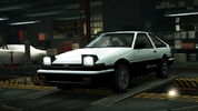 NFSW Toyota Corolla GT-S AE86 White