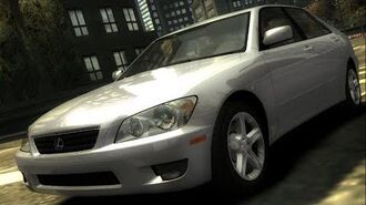 Need For Speed Most Wanted - Lexus IS300 - Test Drive Gameplay (HD) 1080p60FPS