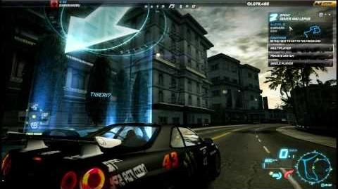 """NFS World - Sprint """"Dover And Lepus"""" - Single Player - 62"""