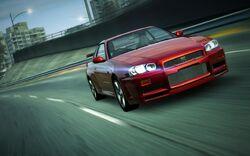 CarRelease Nissan Skyline GT-R V-Spec R34 Red