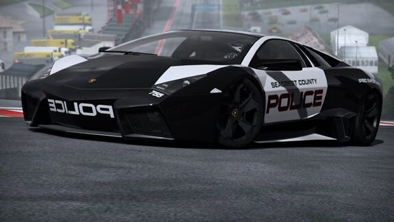 Promotion Lamborghini Reventón Shift 2 Unleashed