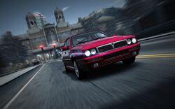 CarRelease Lancia Delta HF Integrale Evoluzione Red