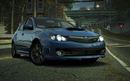 CarRelease Subaru Impreza WRX STI Hatchback Blue 3