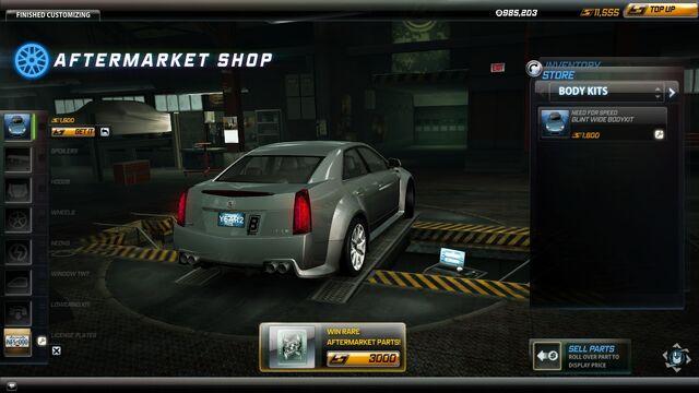 Image  Bodykit Cadillac CTSV Glint Wide Rjpg  NFS World Wiki
