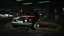 Garage Hummer H1 Alpha Red Juggernaut
