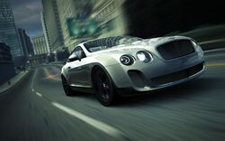 CarRelease Bentley Continental Supersports (Coupé) White