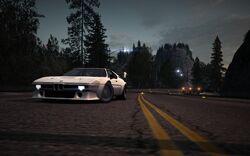 CarRelease BMW M1 Procar White