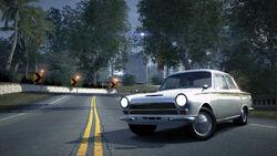 CarRelease Ford Lotus Cortina White