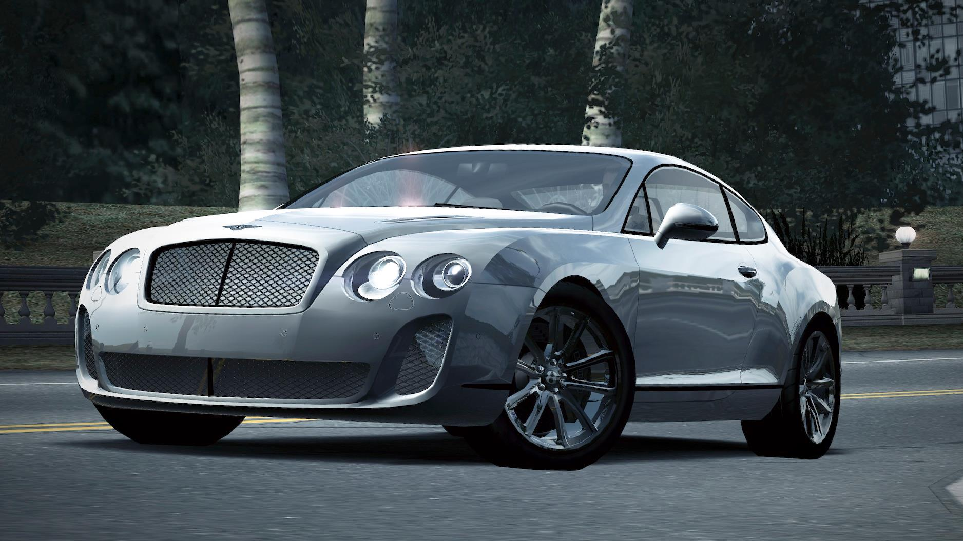 Image Carrelease Bentley Continental Supersports Coupe White 4 Jpg