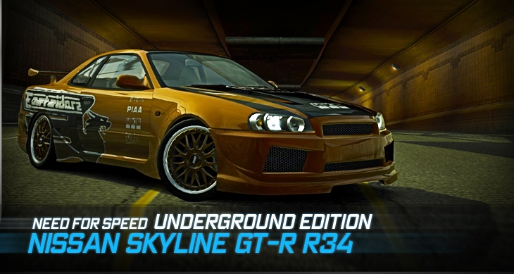 Image Promotion Nissan Skyline Gt R V Spec R34 Undergroundg