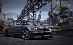 CarRelease BMW M3 GTR E46 (Street) Silver