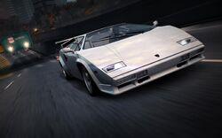 CarRelease Lamborghini Countach 5000 Quattrovalvole White
