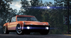 CarRelease Porsche 914-6 GT Orange