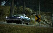 CarRelease Plymouth Road Runner Blue 2