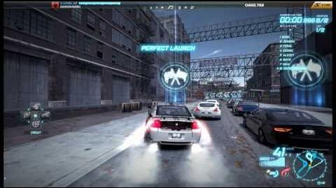 "NFS World - Circuit ""Bay Bridge"" - Single Player - 36"