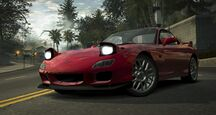 CarRelease Mazda RX-7 RZ Red 2