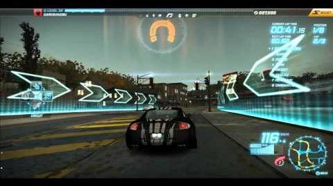 """NFS World - Circuit """"Camden Hills"""" - Single Player - 6"""