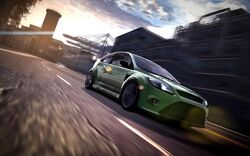 CarRelease Ford Focus RS Green