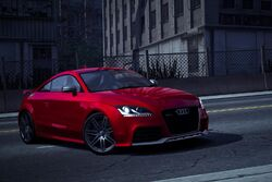 CarRelease Audi TT RS Coupe Red