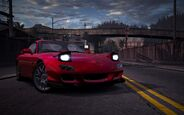 CarRelease Mazda RX-7 RZ Red 3