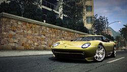 CarRelease Lamborghini Miura (Concept) Yellow