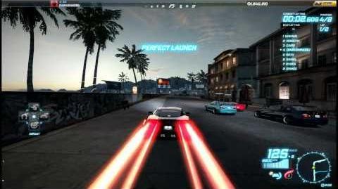 "NFS World - Circuit ""Beachfront"" - Single Player - 59"