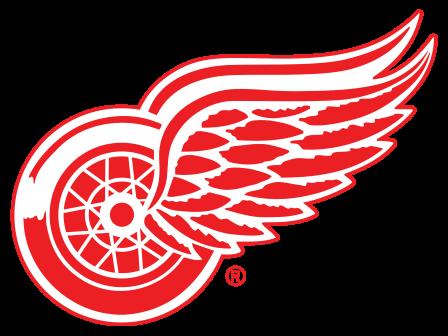 NHL Detroit Red Wings Logo Wallpaper