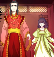 Yun Che with Xiao Lingxi