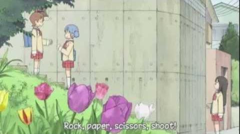 Nichijou - Stair Climbing Game