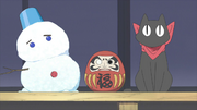 Sakamoto snowman daruma ep4