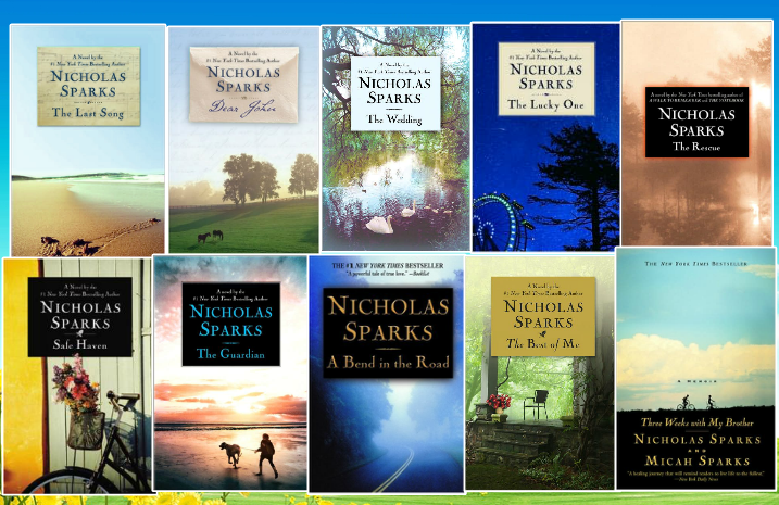 The Novels | Nicholas Sparks Wiki | FANDOM powered by Wikia