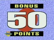 Bonus 50 Points