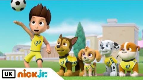 Paw Patrol - Pups Save the Football Match