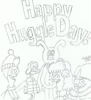 Happy huggle day, sanjay and craig fans!