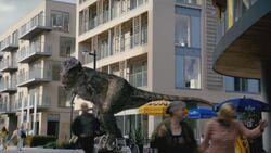 5x5 TyrannosaurusSaccageLondres