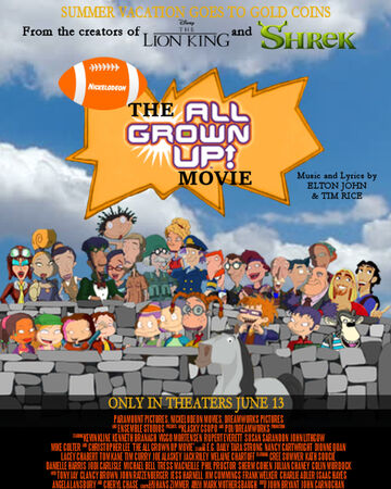 The All Grown Up Movie Rugrats Flying