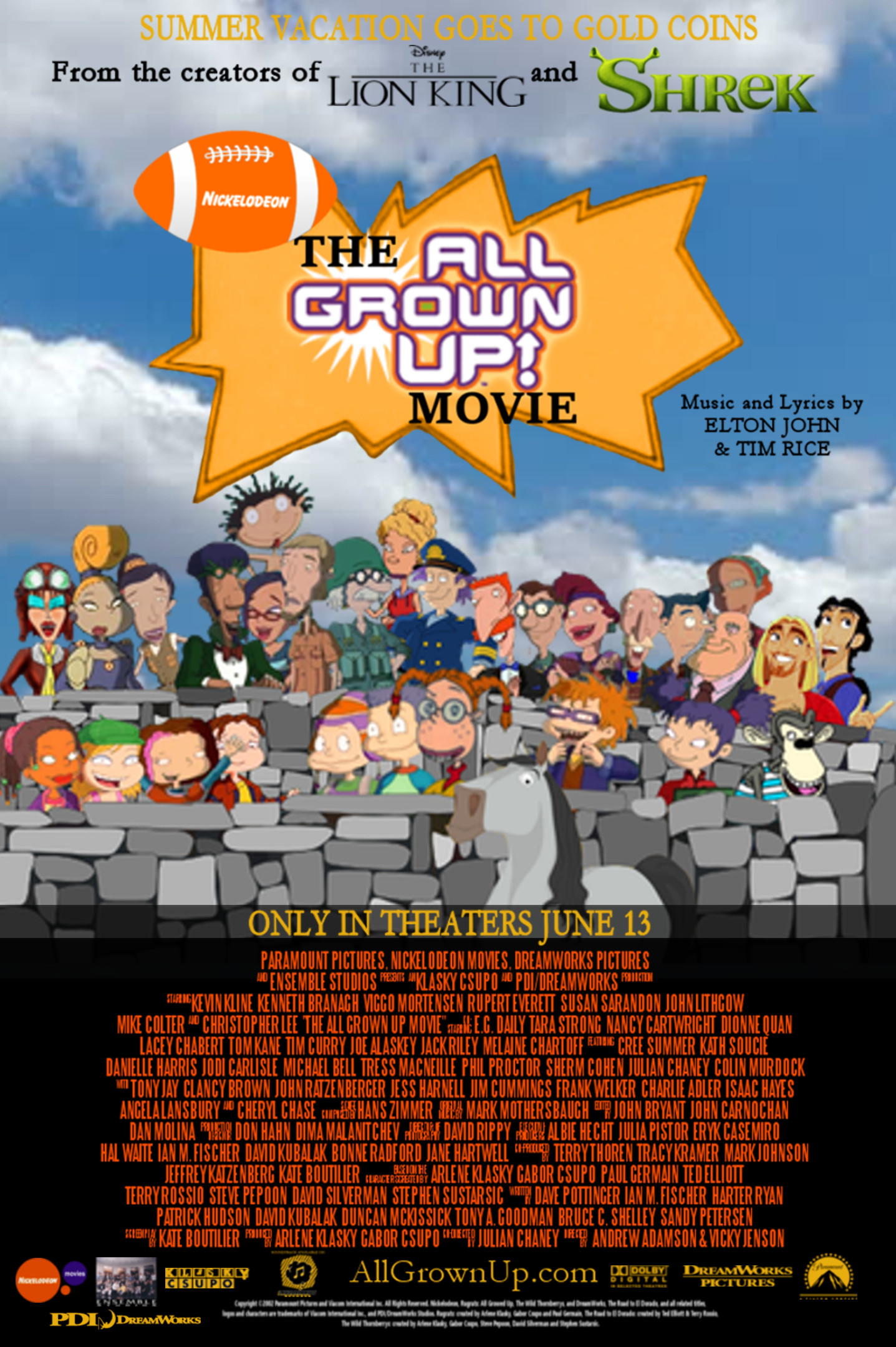 The All Grown Up Movie Rugrats Flying Nickelodeon Movies Wiki