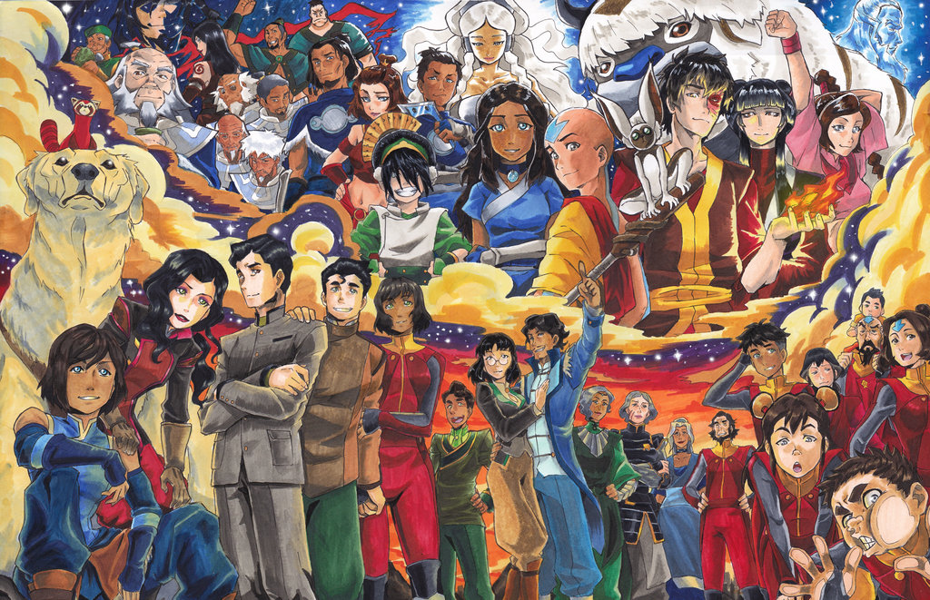 Avatar The Last Airbender Series Characters